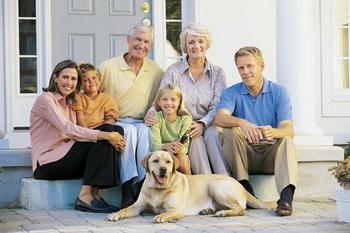 Собака - член семьи